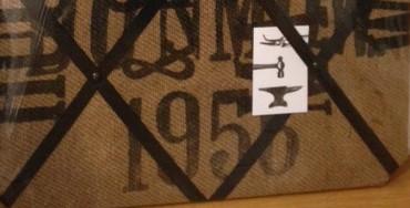 Hessian Notice board - 1956!