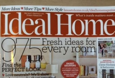 Ideal Home Mag cover March 2015