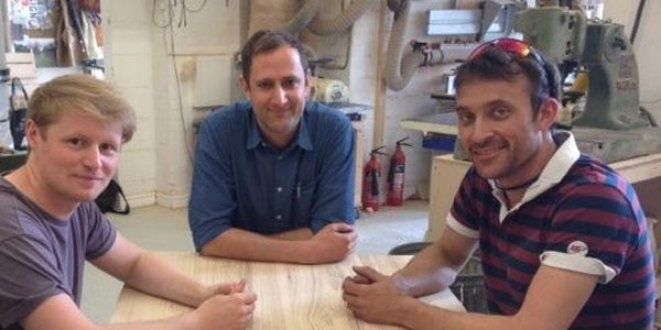 Seb,Ant,Rich at design studio