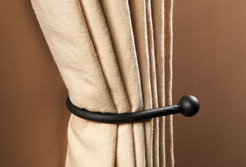Patio Mosquito Net Curtains Iron Curtain Tie Backs