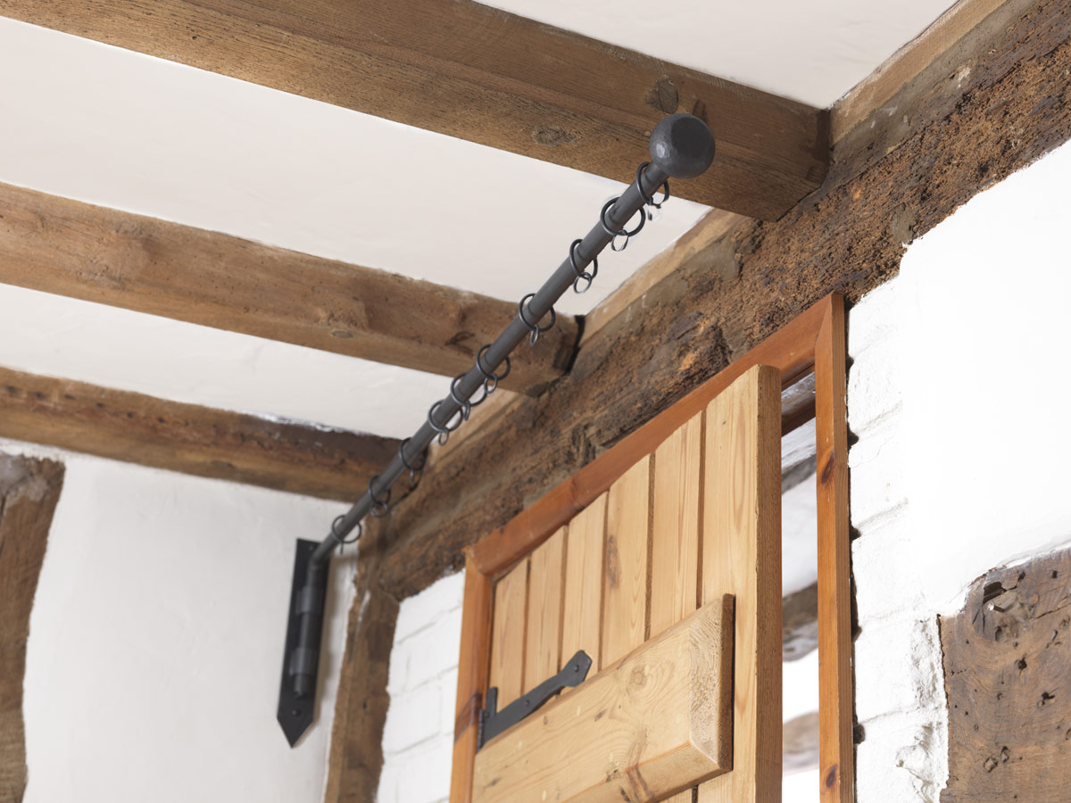 Door Curtain Poles Portiere Rods Made By The Forge