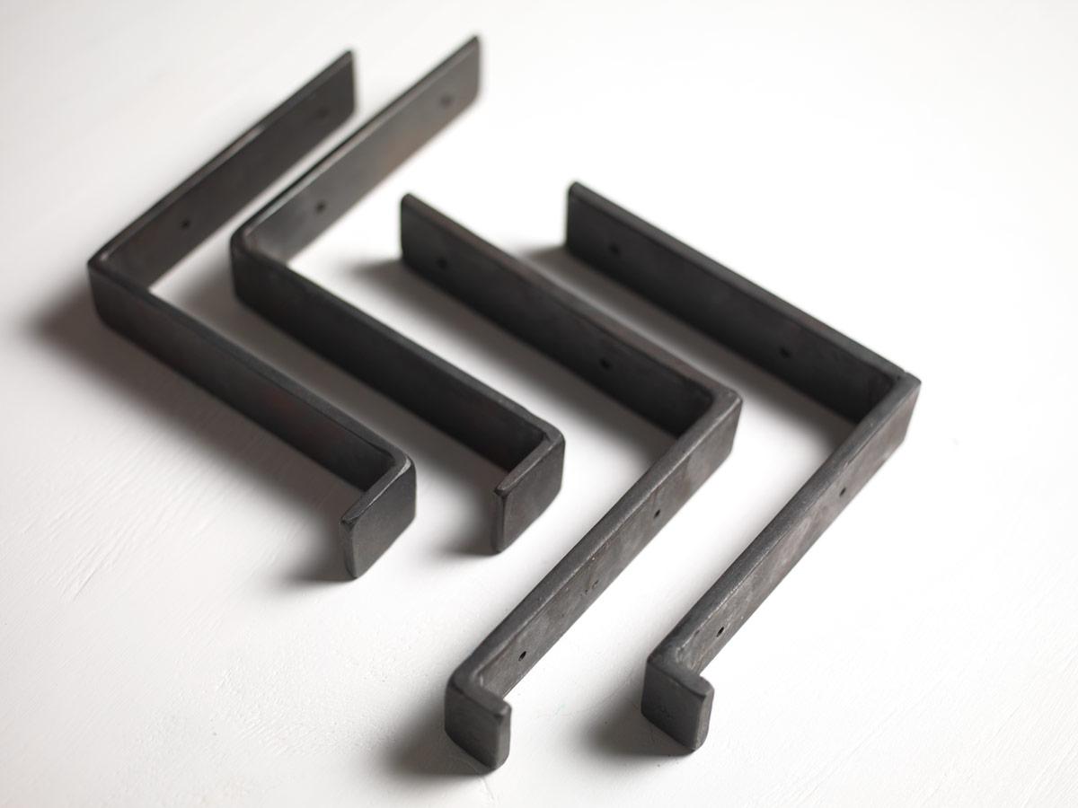 Made To Measure Iron Shelf Brackets Made By The Forge