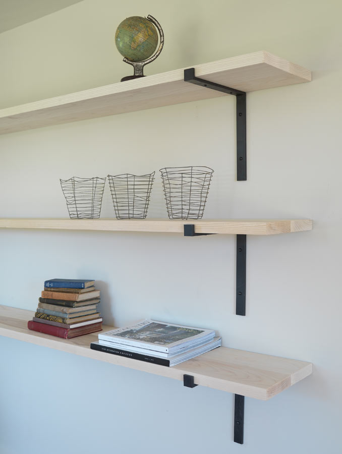 The Forge Shelf And Brackets