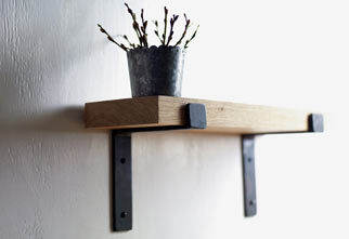 The Forge Shelf Brackets