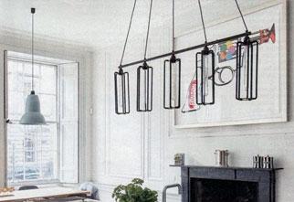 Iron Curtain Poles Pan Racks And Designer Lighting Made