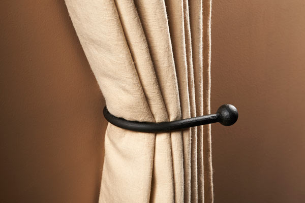 cannonball curtain tie back