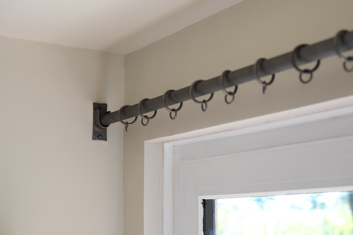 Recess Bracket Curtain Poles Made By The Forge